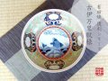 【有田焼】染錦荒磯紋(緑) 深鉢