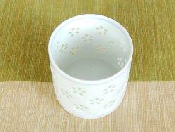 画像2: 【有田焼】水晶花詰 ロックカップ