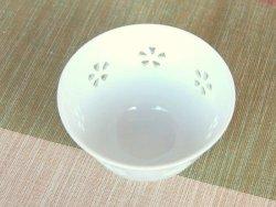 画像2: 【有田焼】水晶彫花詰 小煎茶